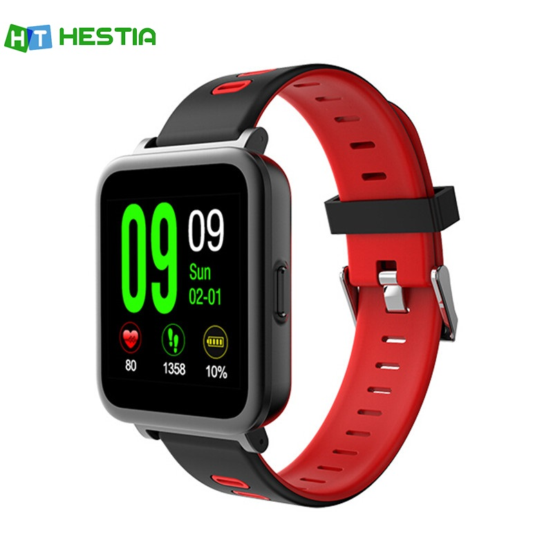 HESTIA SN10 Bluetooth Smart Watch color Long Time Working Wear Device Heart Rate Detection Smart Bracelet PK GV68