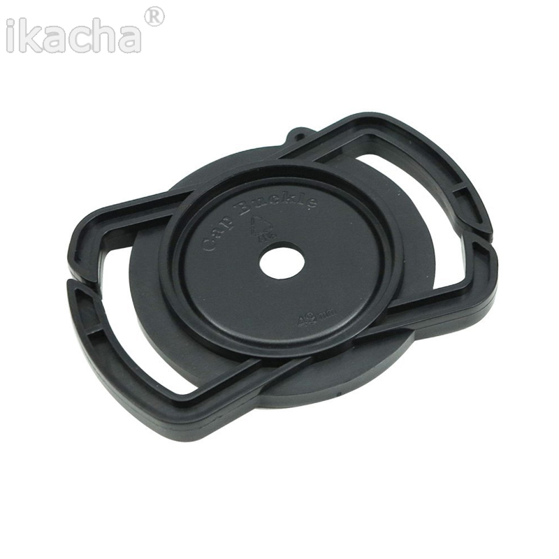Camera Lens Cap Holder Keeper Buckle 72mm 77mm 82mm For Canon EOS Sony Nikon