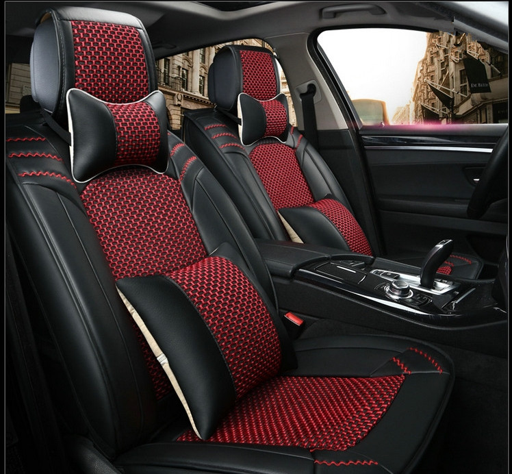 good quality  full set car seat covers for ford ecosport 2017 2013 fashion durable seat covers