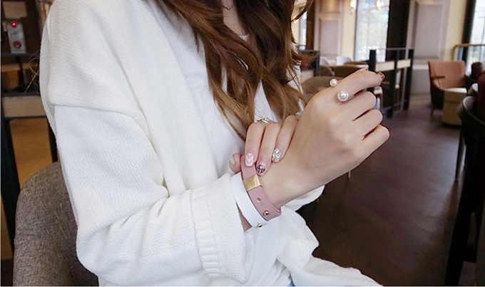 2019 neue Eingetroffen Hot Mode frauen Ring Straße Schießen Zubehör Imitation Perle Größe Einstellbare Ring Öffnung Frauen Schmuck