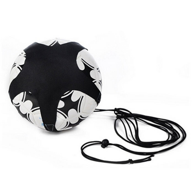Adjustable Football Kick Solo Trainer Belt Waist Belt Control Skills Soccer Practice Training Aid Equipment
