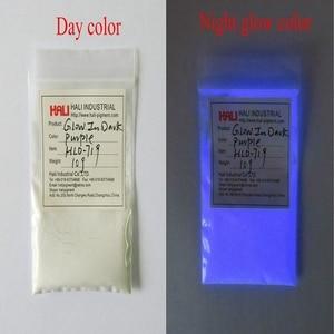 Image 5 - Luminous powder,photoluminescent pigment,fluorescent pigment,glow in dark pigment,1lot=10colors,10gram per color,free shipping.