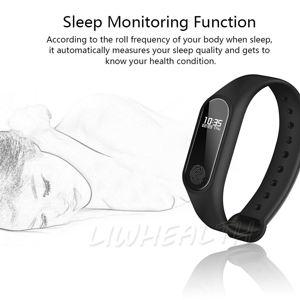 Cheap L2 Smart Fitness Bracelet Heart Rate Monitor Watch Clock Pedometer Activity Tracker For IOS/Xiaomi/Honor PK Mi Band 2/3/4 16