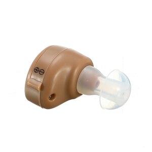 Image 2 - K 80 Mini Verstelbare Dightal Tone In Ear Beste Invisible Sound Enhancement Deaf Volume Versterker Gehoorapparaat Aids Oor Hulp