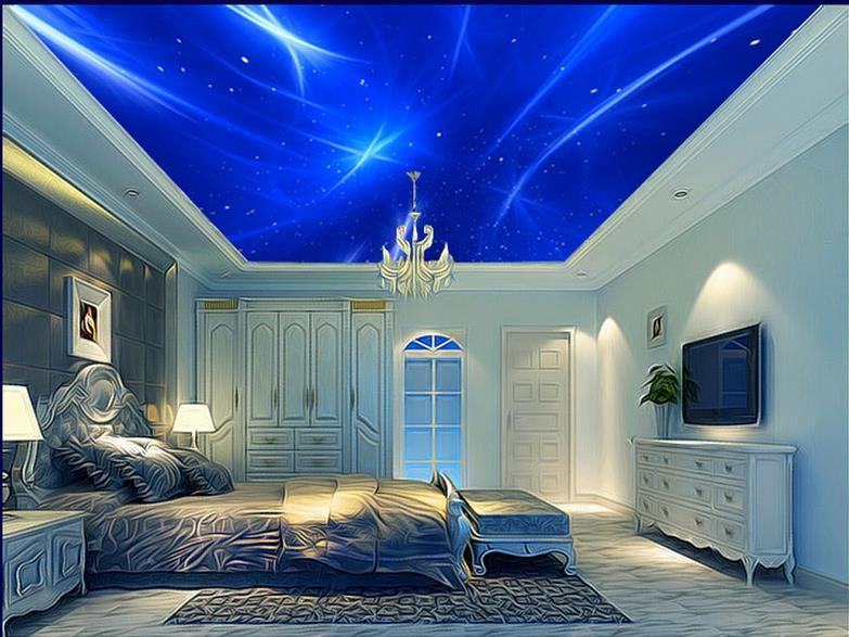 HD Ceiling Murals Wallpaper boys Bedroom Wallpaper Custom ...