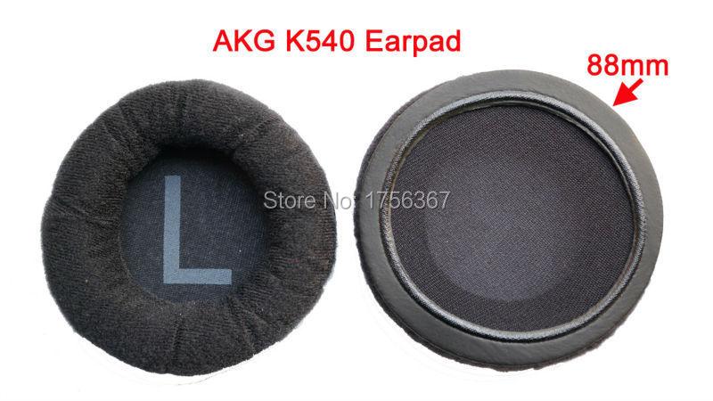 Veshjet me fanellë zëvendësojnë jastëkun e veshit për kufje AKG - Audio dhe video portative - Foto 3