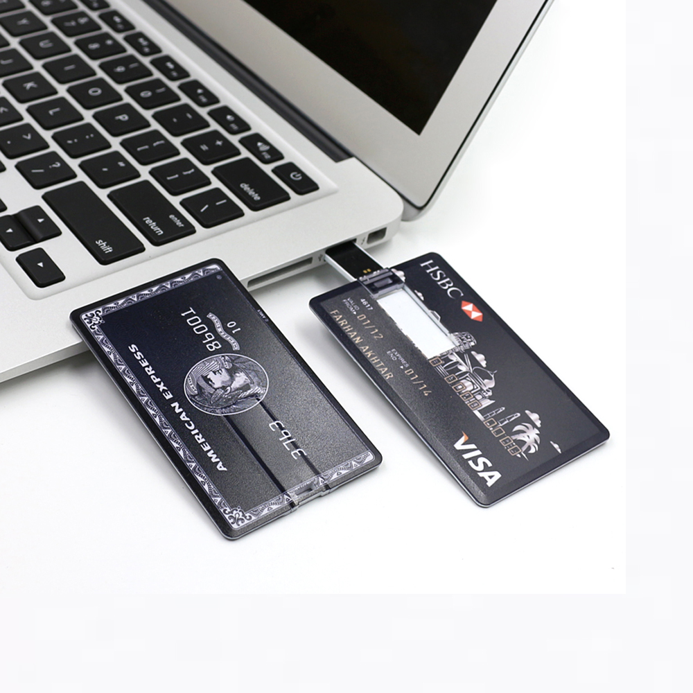 High Speed Credit Card USB Flash Drive 32G Pendrive 64G USB Stick 16G 8G Flash Drive Memory stick HSBC Bank Card Pen Drive usb flash drive