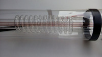 Co2 Laser Glass Tube 150w 1850mm Length 80mm Diameter For Co2 Laser Engraving Machine