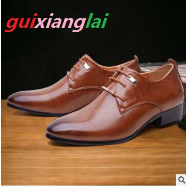 185fc76d9535 2018 new style English business suits young men s shoes to work leisure  shoes foreign trade oversize men s shoes 38-48
