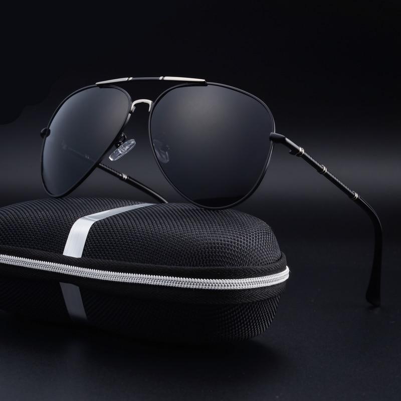 Os novos 2016 homens óculos polarizados óculos de sol clássicos espelho  sapo óculos de condução óculos de sol para a condução c0acdc33e9