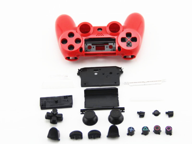 For Old Playstation Dualshock 4 PS4 Wireless Controller Full Set Replacement Shell Housing Shell Case Game Handle Cover Mod Kit