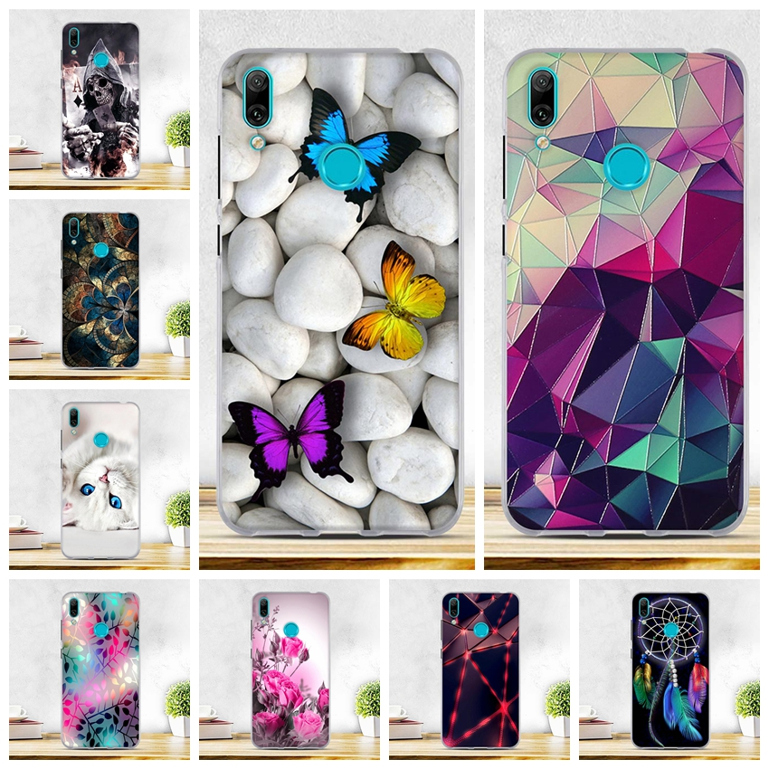 Case For <font><b>Huawei</b></font> Y7 Prime <font><b>2019</b></font> Coque Capa <font><b>Huawei</b></font> Y7 <font><b>2019</b></font> Cover Soft Silicon For <font><b>Fundas</b></font> <font><b>Huawei</b></font> <font><b>Y</b></font> <font><b>7</b></font> Prime <font><b>2019</b></font> Cases Y7Prime Cover image