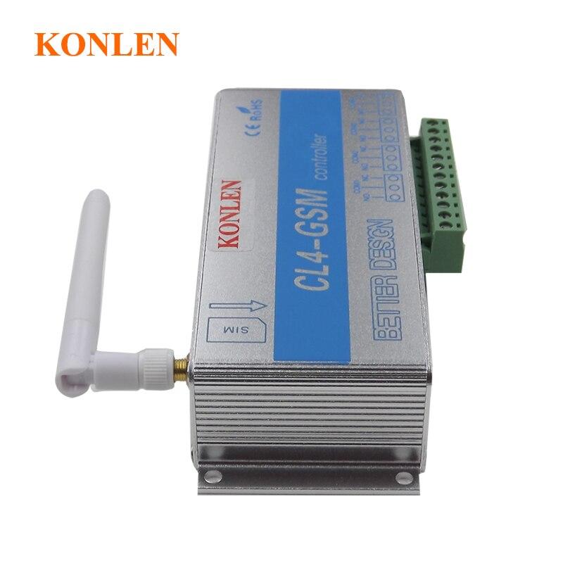 Image 5 - 4 リレーの GSM コントローラ Sms コールリモートコントロールスイッチ ON OFF  ガレージドアゲートオープナーライトカーテンモーターポンプホームオートメーション    グループ上の  セキュリティ