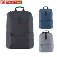 c197b8681e1 2018 Nieuwe Xiaomi Fashion Schooltas Polyester Duurzaam Rugzak Pak Voor  15.6 Inch Laptop Computer Eenvoudige Leisure