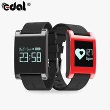 """Эдал 0.95 """"oled-смарт браслет Фитнес трекер Приборы для измерения артериального давления сердечного ритма Мониторы вызовы сообщения часы для смартфонов"""