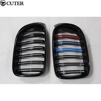F26 X4 Carbon fiber ABS Three color Front Bumper Grill for BMW F26 X4 Racing Grills 15 16
