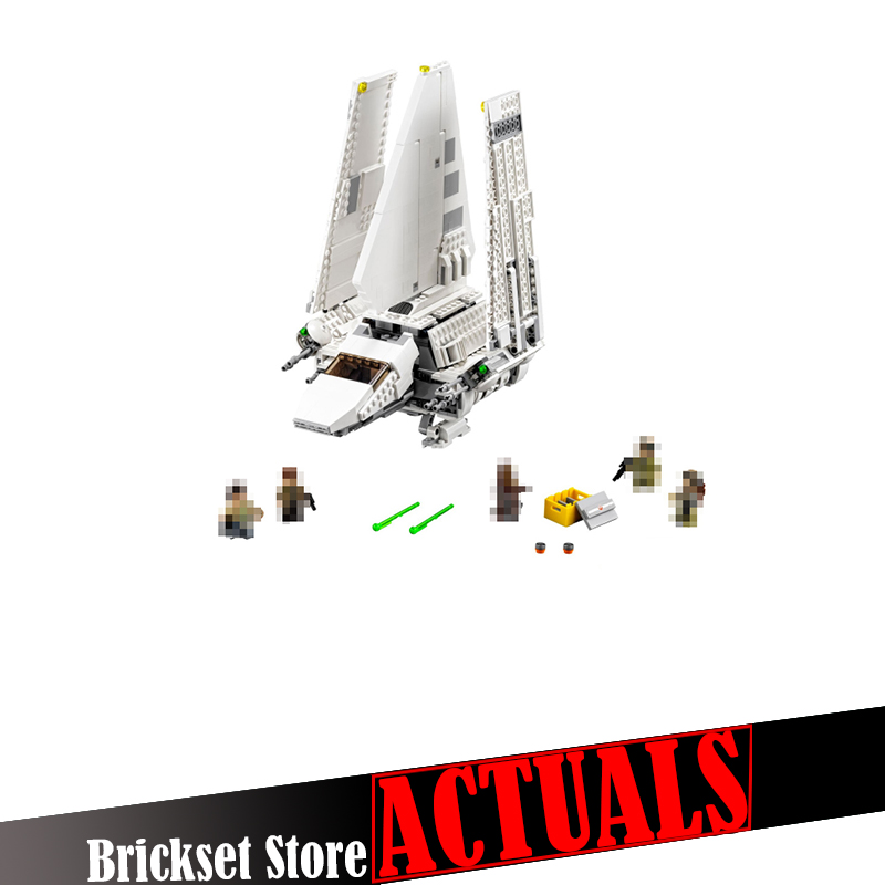 New Lepin 05057 937Pcs Star War Series The Imperial Shuttle Set Model Building Kit Blocks Bricks Toys Compatible Gift With 75094 lepin 05057 937pcs star moc series war imperial shuttle tydirium building blocks bricks assembled children toys compatible 75094