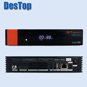 Image 1 - Freesat Gtmedia V8 NOVA DVB S2 odbiornik satelitarny obsługuje PowerVu Biss Key AVS + ,HD.265, wbudowane WIFI lepsze niż V8 SUPER 5 sztuk