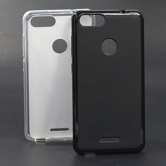 Soft-Case BQ BQ-5204 White Back-Cover Black For Strike Tpu Sheer Capa Fundas