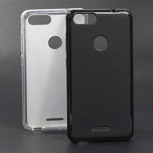 Zachte Case Voor BQ-5204 Strike Selfie Cases Zwart Wit Tpu Back Cover Sheer Voor BQ 5204 BQ5204 5.2 Inch Achterkant Capa Fundas