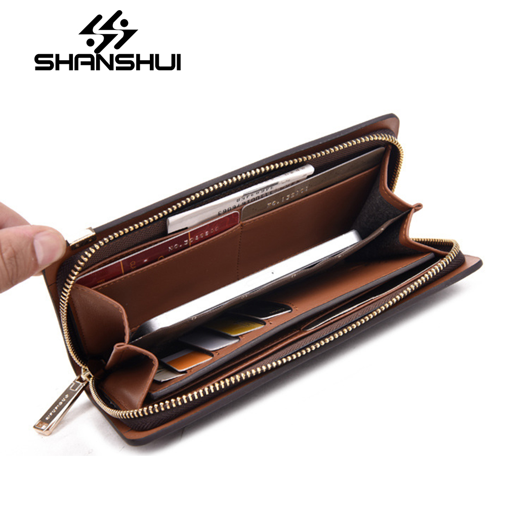 Men Wallets Genuine Leather Purse Luxury Brand Men's Clutch Bag Cowhide Leather Long Wallets Coin Pocket Card Holder Carteira tiding brand luxury genuine cow leather retro men long wallet clutch bag vintage cowhide leather purse card holder coin pouch