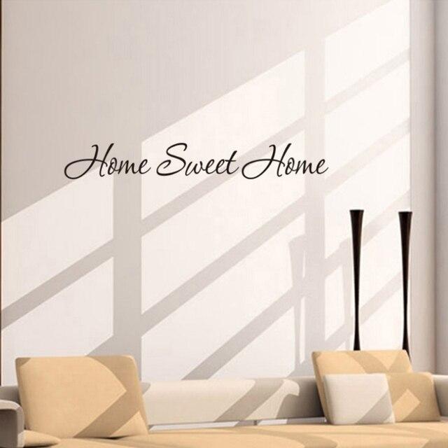 Muursticker Home Sweet Home.Fashion Design Diy Brief Citaat Home Sweet Home Muurstickers Home