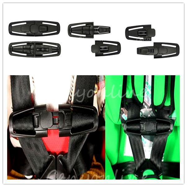 Harness Chest Clip Buckle Safety Seat Strap Belt Car