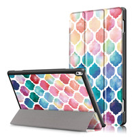 PU Leather Stand Cover Case For Lenovo TAB4 Tab 4 10 Plus TB X704F TB X704N
