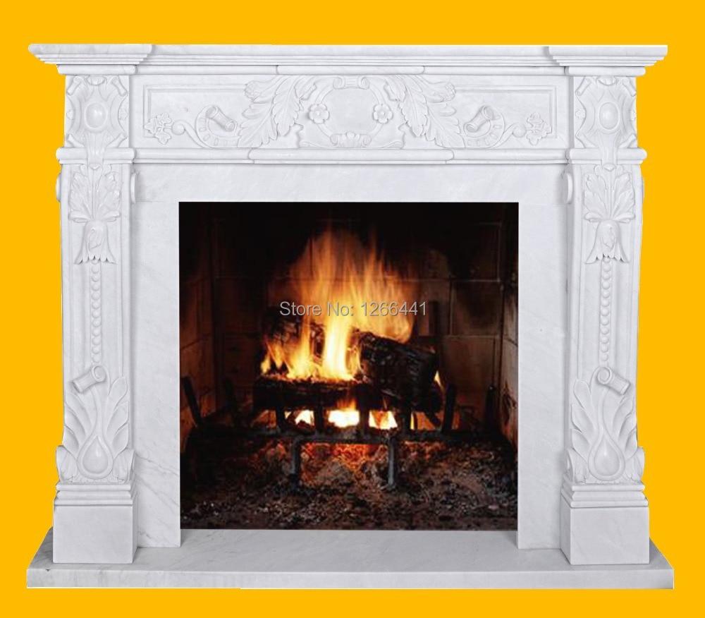 Online get cheap decorative fireplace mantels aliexpress for Cheap wooden fireplace surrounds