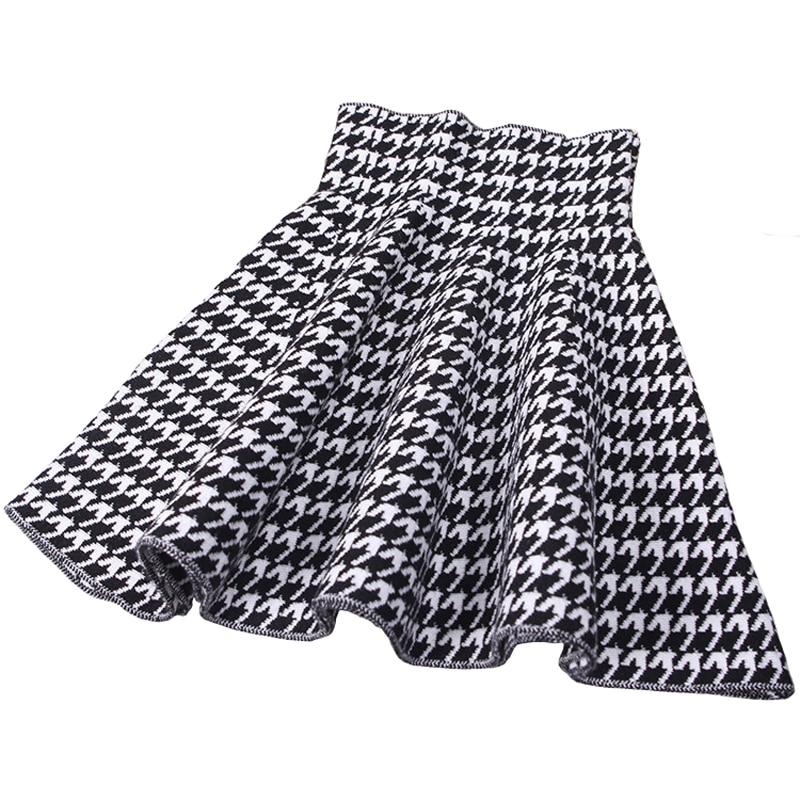 fe07d942c New Design Beautiful Style 2 Color Houndstooth Jacquard Knitting Skirt  Girls Skirts Princess Skirts Tutu Girl Child Clothes Kids on Aliexpress.com  | Alibaba ...