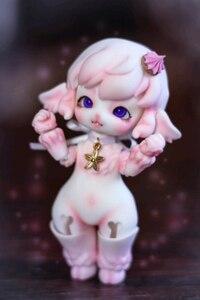 Image 3 - Muñecas de palma 1/12 bjd, oveja pequeña, muñeca para niña, mascota, juguetes bjd, envío gratis