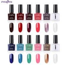 hot deal buy pinpai 6ml nail polish gorgeous color  nail gel  nail top coat base coat gel nail varnishes gel lacquer glitter