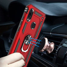 H&A Luxury Shockproof Phone Case For Xiaomi Redmi Note 7 7 Pro Magnetic Ring Stand Phone Cover For Redmi 7 Case(China)