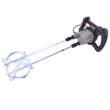 Liquid Mixer 1400W Agitator Variable Speed Electric Mixer 2 Agitator Arm (Can mix feed, coating, paint, cement etc)
