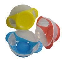 Suction cup bowl Baby bowl of wholesale Baby baby bowl to prevent over training 45pcs mix 17 17.9cm free shipping