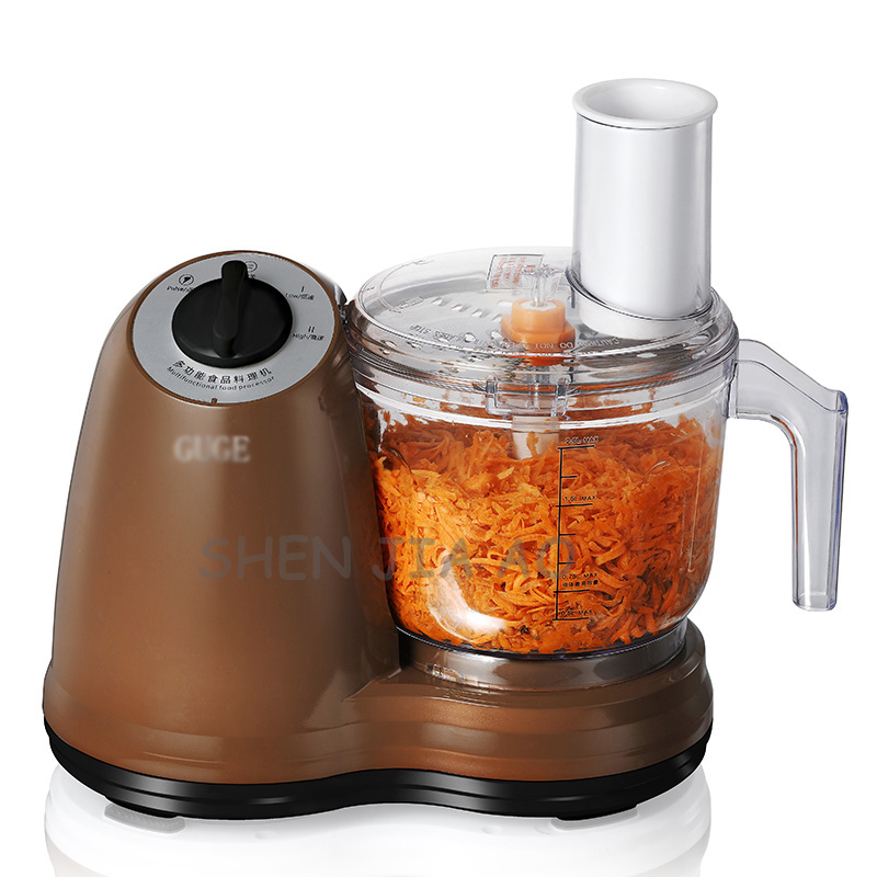 NEW Household electric meat grinder multi-function automatic mincer food processor 2L meat grinder 220V penghui multi function household manual food processor meat grinder white orange