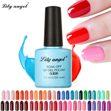 LILY ANGEL Nail Art Design Manicure  110 Color 7.3Ml Soak Off Enamel New Gel Polish LED UV Lacquer 1-38