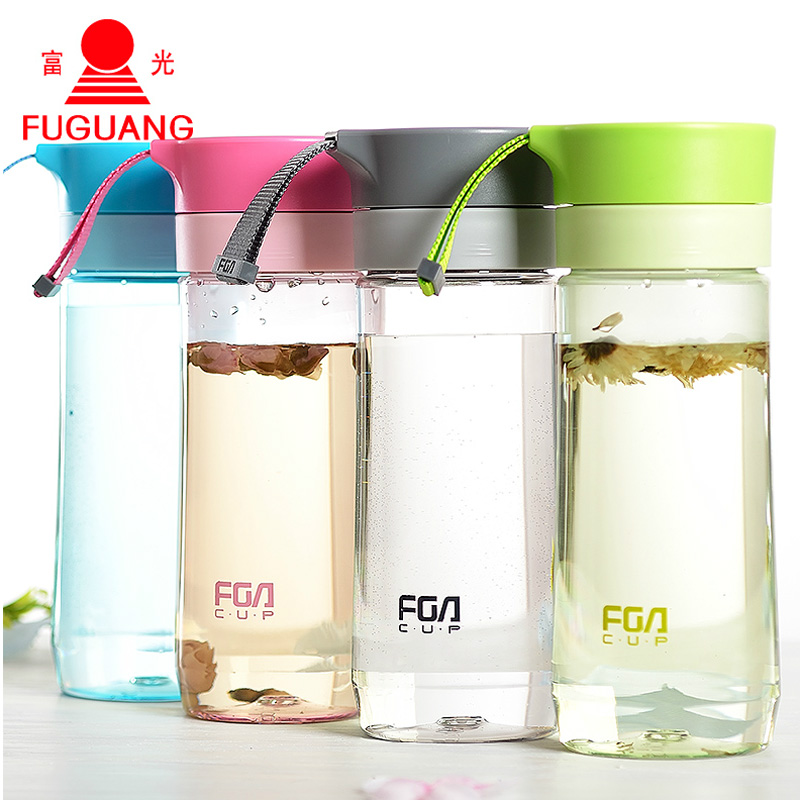 2pcs 500ml My Bottle Sports Water <font><b>Plastic</b></font> <font><b>Transparent</b></font> <font><b>Portable</b></font> <font><b>Handle</b></font> <font><b>Portable</b></font> Juice <font><b>Cup</b></font> Drinkware High Quality with tea infuser