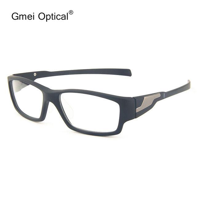 Gmei T9057 Óptica Acetato del Lleno-Borde Oval Negro Marco de Las Lentes de Los Hombres Gafas de Moda Gafas