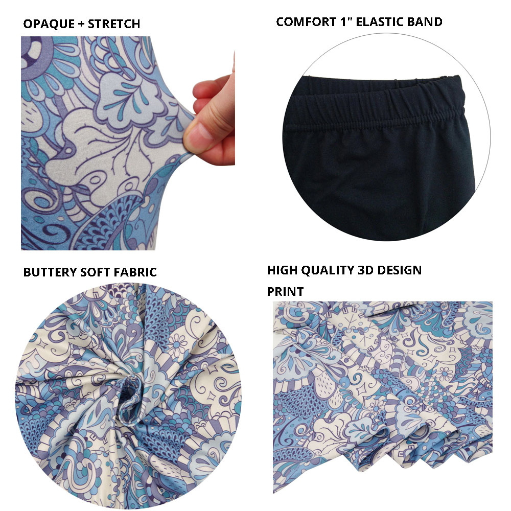 floral printed leggings for women  (10)