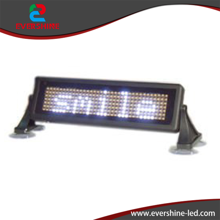 ФОТО mini Taxi LED sign  White color with  size 1.6