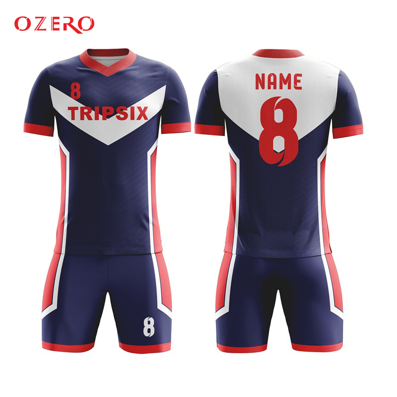 1fcfd05b2 Custom sublimation thailand short sleeve football shirts uniforms for teams authentic  soccer jerseys personalized sports jersey-in Soccer Jerseys from ...