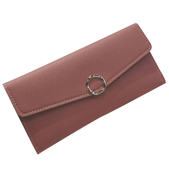 HEBA Womens Fashion Ladies Multi-card Bit Buckle Wallet Card Pack Purses Money Clip