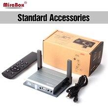 MiraBox Wifi écran miroir Avec IR Soutien 1080 P Full HD Pour Réunion L'éducation D'affaires Sans Fil Miroir Lien Boîte Présentateur