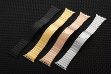 New Detachable Stainless Steel Invisible Buckle Bracelet for Apple iwatch Band edition watch bands for apple