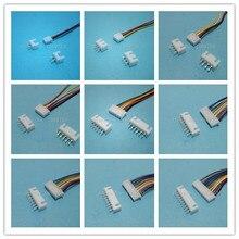 20 Sets XH 2.54mm 30cm 2/3/4/5/6/7/8/9/10/12 Pin Female Wire Straight Plug L:300mm
