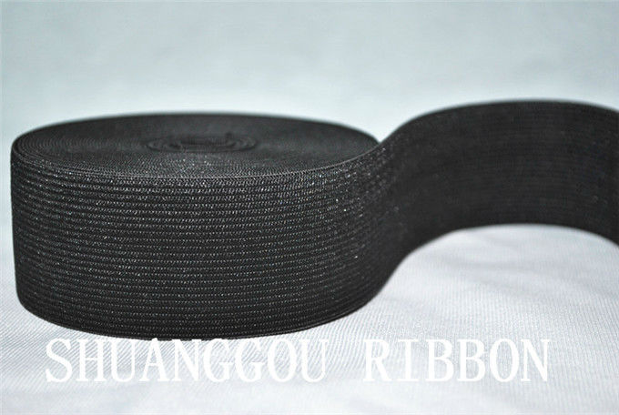 1.2(30mm) 10meters Braided Elastic Cord.Elatic tape.Garment accessories.black or white