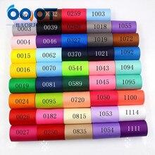 OOOT BAORJCT 181107-l75мм, 75 мм 10 ярдов твердые цветные ленты теплопередачи печатных grosgrain, DIY Одежда материалы ручной работы