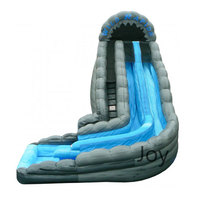 2016 Hot Sale Commercial Big Cheap Adult Size Giant Inflatable Water Pool Slide For Kids And