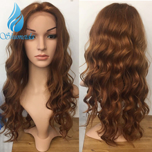 SHD Malaysian Remy Hair Lace Frontal Wig with Baby Hair 100% Human Hair Loose Deep Wave Wigs Middle Part Glueless Lace Front Wig цена